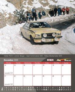 Desktop Rally Calendar 2020