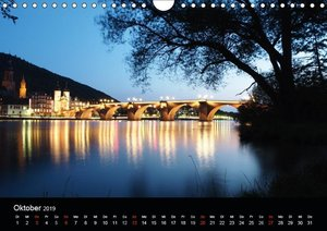 Deutsche Städte - Impressionen zur Blauen Stunde (Wandkalender 2