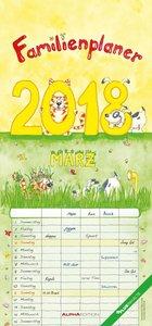 Familienplaner 2018 - Familientermine / Familientimer (21 x 45)