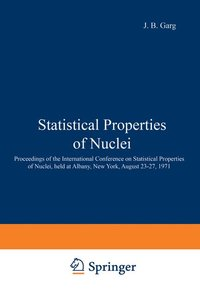 Statistical Properties of Nuclei