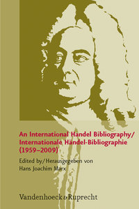 International Bibliography to Haendel (1959-2009)