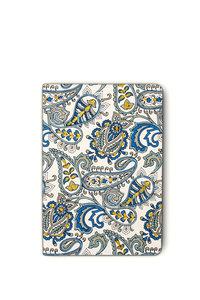 Notizbuch bestickt, Design Paisley