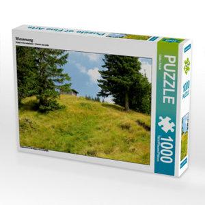 Wiesenweg 1000 Teile Puzzle quer