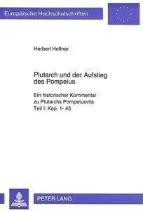 Plutarch und der Aufstieg des Pompeius