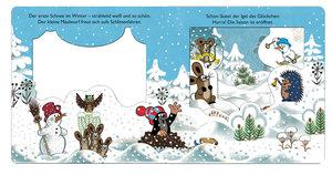 Winter-Fensterbuch Der kleine Maulwurf