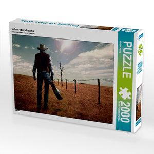 CALVENDO Puzzle follow your dreams 2000 Teile Lege-Größe 90 x 67