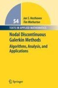 Nodal Discontinuous Galerkin Methods