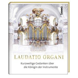 "Buch mit CD \""Laudatio Organi\"", mit 1 Audio-CD"