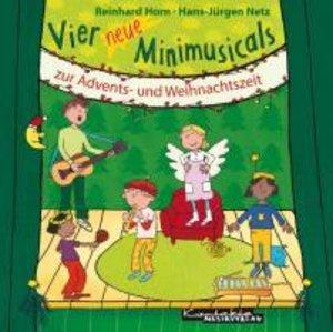 Vier neue Minimusicals zur Advents- und Weihnachtszeit