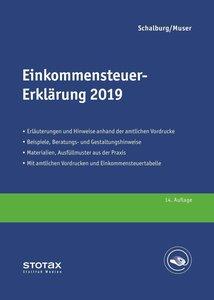 Einkommensteuer-Erklärung 2019