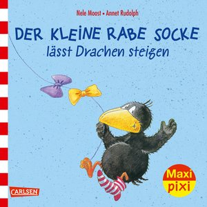 Maxi-Pixi Nr. 233: VE 5 Der kleine Rabe Socke lässt Drachen stei
