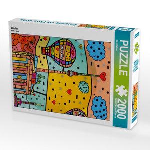 Berlin 2000 Teile Puzzle hoch