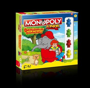 Monopoly Junior Benjamin Blümchen