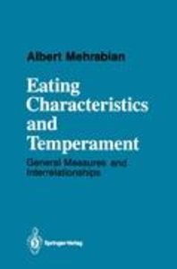Eating Characteristics and Temperament