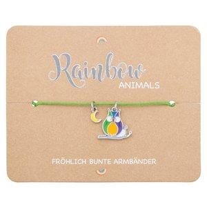 Armband - Rainbow Animails - Eule