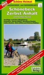 Schönebeck, Zerbst und Umgebung 1 : 50 000 Radwander- und Wander