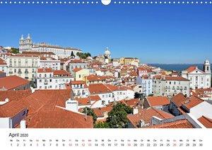 LISSABON und die Atlantikküste (Wandkalender 2020 DIN A3 quer)