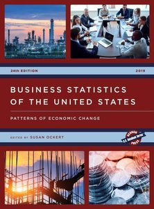 Business Statistics of the United States 2019: Patterns of Econo