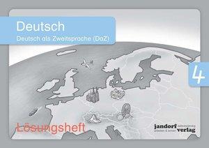 Deutsch 4 (DaZ) (Lösungsheft)