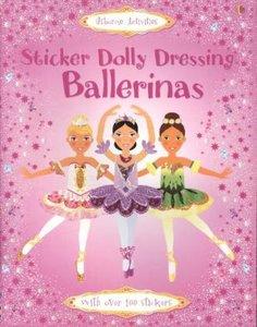 Sticker Dolly Dressing. Ballerinas
