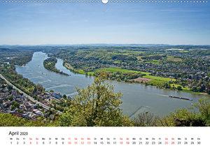 Der Drachenfels - Schöne Aussichten (Wandkalender 2020 DIN A2 qu