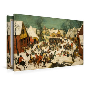 Premium Textil-Leinwand 120 cm x 80 cm quer Bethlehemischer Kind