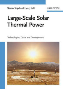 Large-Scale Solar Thermal Power