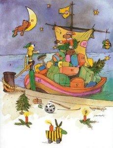 Janoschs Adventskalender Weihnachtsschiff