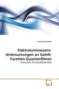 Elektrolumineszenz-Untersuchungen an GaInN-Facetten-Quantenfilme