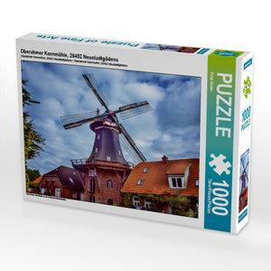 Oberahmer Kornmühle, 26452 Neustadtgödens 1000 Teile Puzzle quer