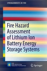 Fire Hazard Assessment of Lithium Ion Battery Energy Storage Sys