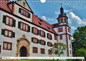Burgen- und Schlösserreise durch Deutschland (Wandkalender 2018