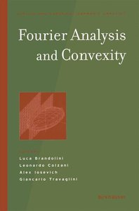 Fourier Analysis and Convexity