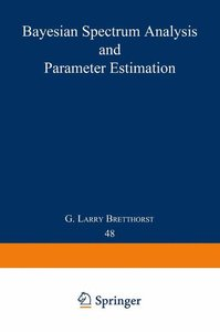 Bayesian Spectrum Analysis and Parameter Estimation
