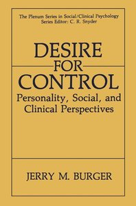 Desire for Control