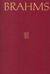Johannes Brahms Werkverzeichnis