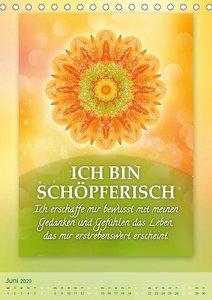 ICH BIN Licht und Liebe - Kalender (Tischkalender 2020 DIN A5 ho
