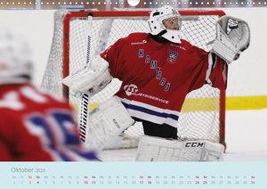 Eishockey! Schneller, härter, das Powergame! (Wandkalender 2020