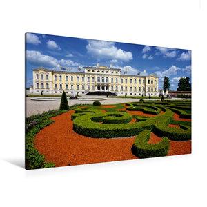 Premium Textil-Leinwand 120 cm x 80 cm quer Schloss Ruhenthal/Ru