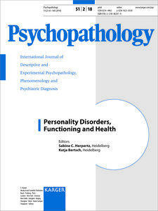 Personality Disorders, Functioning and Health