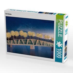 CALVENDO Puzzle Die Brücke 1000 Teile Lege-Größe 64 x 48 cm Foto