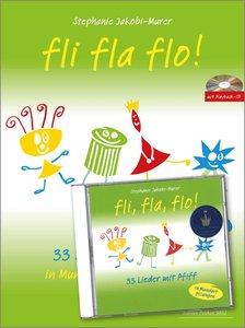 Fli fla flo 33 Lieder mit Piff (Mundart/ dt.)