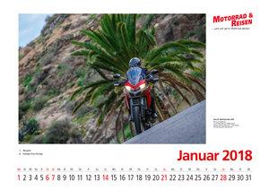 Motorräder 2018 Foto-Wandkalender DIN A3 quer