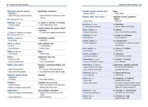 Langenscheidt Grund- und Aufbauwortschatz Latein - Buch mit Bonu