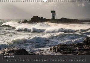 Bretagne - Au bord de la mer (Calendrier mural 2015 DIN A3 horiz
