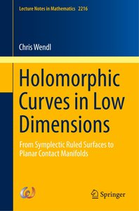 Holomorphic Curves in Low Dimensions