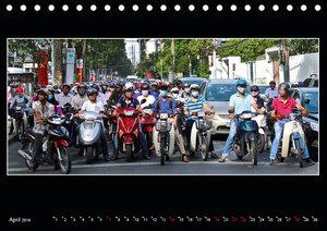 Vietnam - Land der Kontraste 2019 (Tischkalender 2019 DIN A5 que