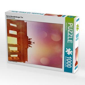 CALVENDO Puzzle Berlin Brandenburger Tor 1000 Teile Lege-Größe 4