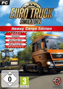 Euro Truck Simulator 2, Heavy Cargo Edition, 1 CD-ROM