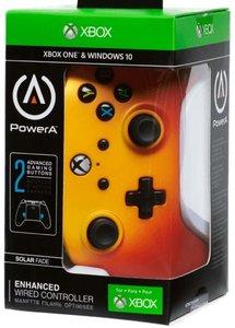 PowerA Wired Controller, Solar Fade, für Xbox One und PC, gelb/o